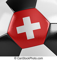 Switzerland Soccer Ball