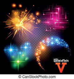 Vector Special Effects Set 5 - Vector Special Effects Series...