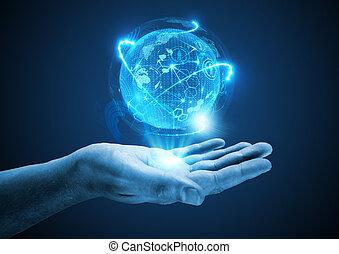 proyectar, el, futuro