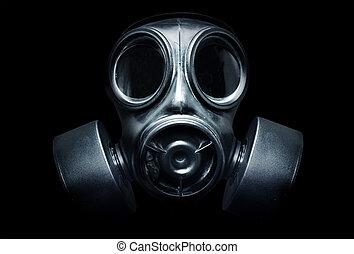 gás, máscara
