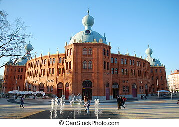 Bullfighting ring \'Campo Pequeno\' in Lisbon - beautiful...