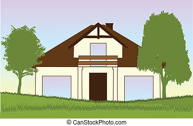 new house-vector illustration