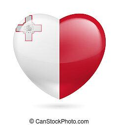 Heart icon of Malta