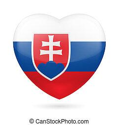 Heart icon of Slovakia