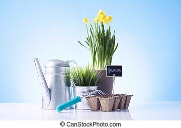 工具, 花園, 品種