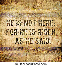 """""""He is not here"""" Religious Backgrou - Religious Words in..."""