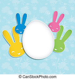 Springtime Easter holiday Background. Image contains a...