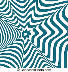 Optical illusion - Op art, also known as optical art, is a...