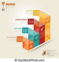 Isometric Shape Design Layout - Isometric shape modern style...