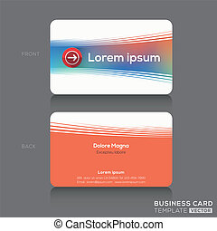 Business cards Name card Design Template