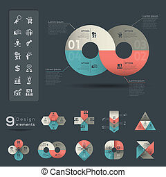 Infographic Element template - Graphic Element & Infographic...