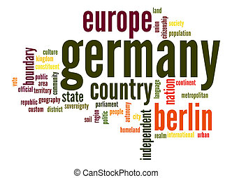 Germany word cloud