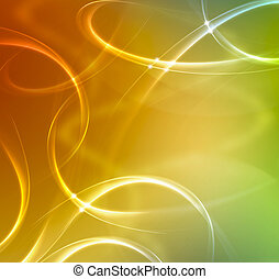 summer abstract elegant background