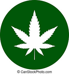 Cannabis icon sign vector