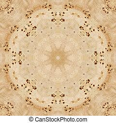 Seamless pattern, wooden veneer