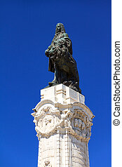 Marquess of Pombal - Statue on the Marquess of Pombal Square...
