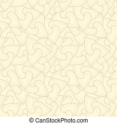 Neutral beige plant wallpaper - Neutral floral ornament....
