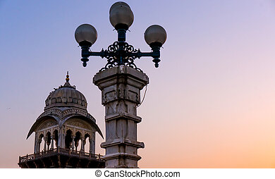Lights and domes Albet hall jaipur - Lights and the...