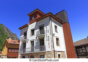 Somiedo government house, Spain
