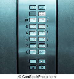 Lift elevator keypad