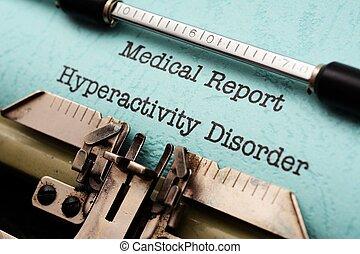 hyperactivity, desorden