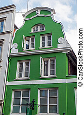 Typical house of northern Germany - A typical restored old...