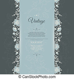 Vintage background - Vector illustration (eps 10) of Vintage...