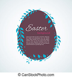 Easter design template - Vector illustration eps 10 of...