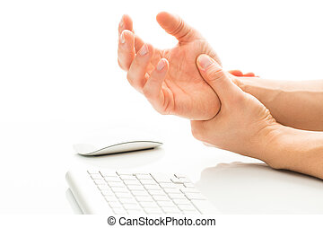 Working too much - suffering from a Carpal tunnel syndrome -...