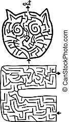 Two mazes - Creative design of two mazes
