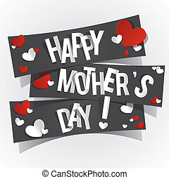 Happy Mothers Day - Creative Happy Mothers Day Card with...