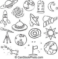 doodle space images