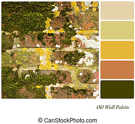 Old Wall Palette