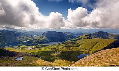 Snowdonia, krajobraz