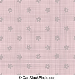 flowers pattern with pink texture