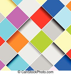 abstract squares background vector illustration