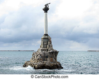 Sevastopol - The Monument to the Scuttled Ships