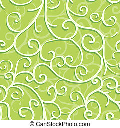 Seamless pattern with swirls