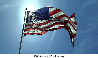 Flag Part Two - High definition clip of the American flag...