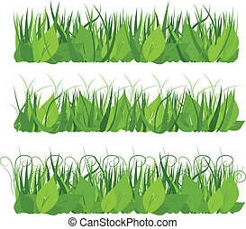 Collection grass