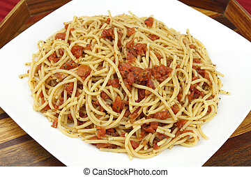 Plate Full of Spaghetti