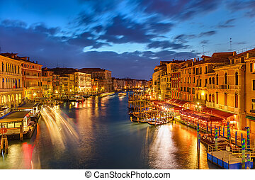 Venedig, Natt