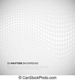 Abstract perspective background with halftone. For your...