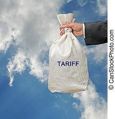 Bag with tariff
