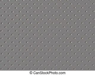 grey dimpled fabric texture background - close up of dimpled...