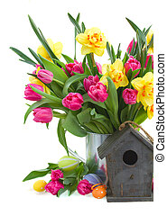 spring flowers boquet for easter - spring flowers boquet...