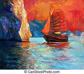 navio, Chinês