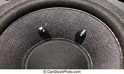Woofer - Close up of a Audio?Woofer