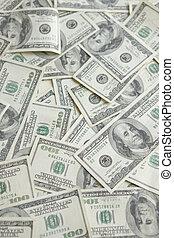 Background of Money - Money Background of One Hundred Dollar...