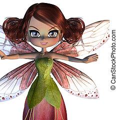 Cute Blossom Fairy